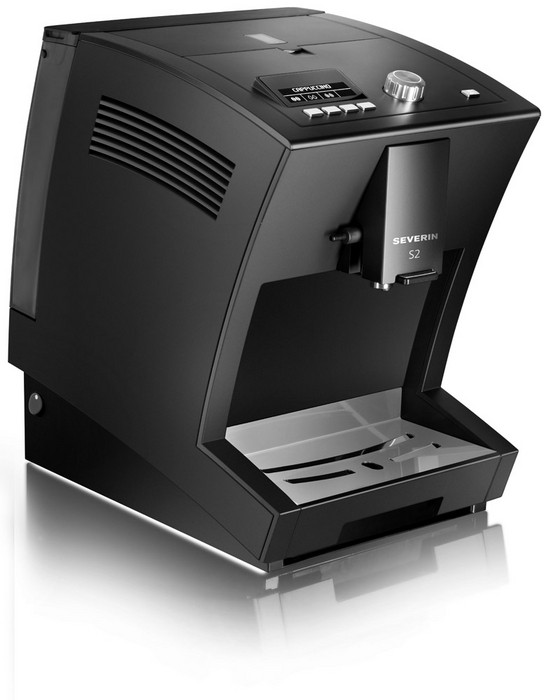 Severin S2 One Touch Volautomaat Zwart
